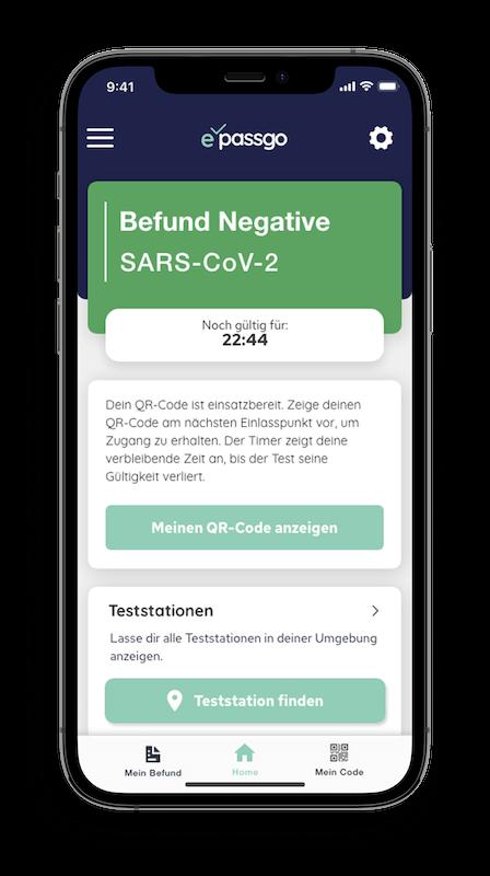 PassGo - Corona Test App