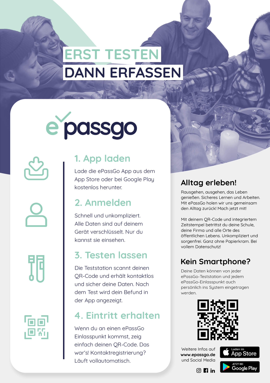 PassGo-InfoFlyer, DIN A5