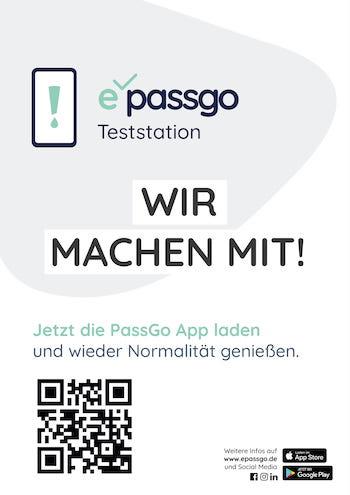 PassGo Poster Wir machen mit